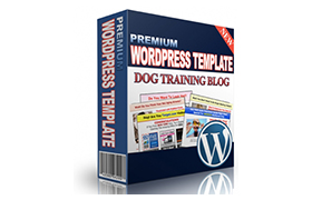 Premium WordPress Template Dog Training Blog
