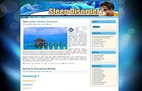 Sleep Disorder Niche WP Theme