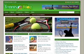 Tennis Niche WP Theme
