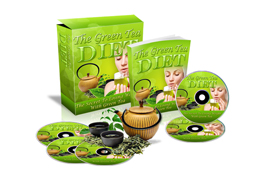 Green Tea Diet HTML and PSD Web Template