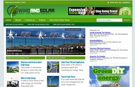 Wind And Solar Niche WP Theme