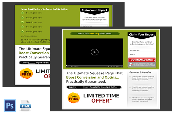 Squeeze Page and Video Squeeze Twin Set 5