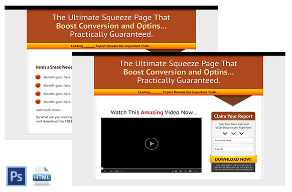 Squeeze Page and Video Squeeze Twin Set 7