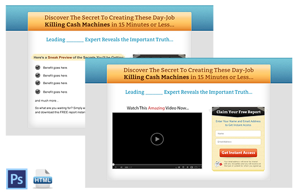 Squeeze Page and Video Squeeze Twin Set 8