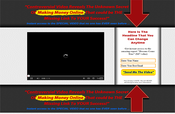 Video Squeeze Pages Template Edition 11