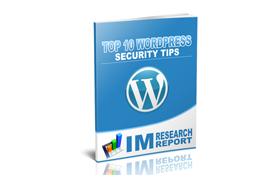 Top 10 WordPress Security Tips