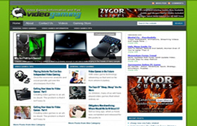Video Gaming Niche WP Theme