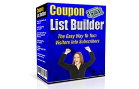 Coupon List Builder