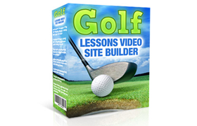 Golf Lessons Video Site Builder