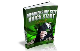 Membership Site Quick Start Guide