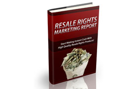 Resale Rights Marketing Report