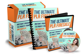 The Ultimate PLR Firesale