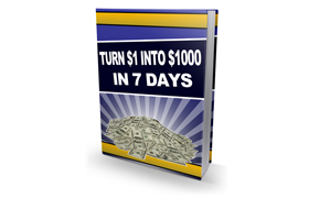 Turn $1 Into $1,000 In 7 Days