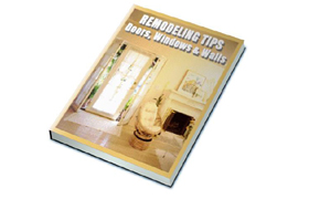 Remodeling Tips – Doors, Windows and Walls