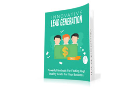 Innovative Lead Generation