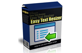 Easy Text Resizer