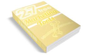 27 Free Marketing Tools