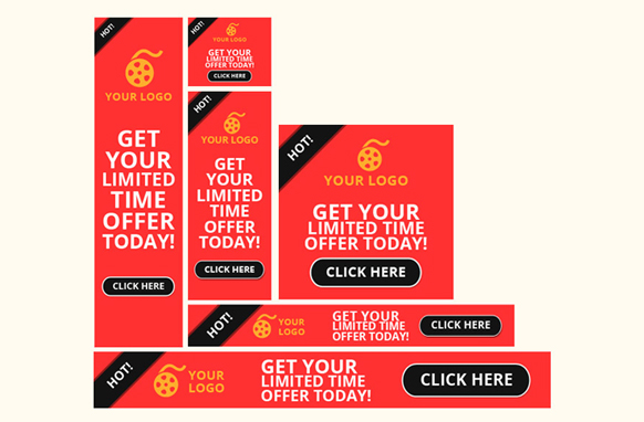 Advertising Banners PSD Volume 1