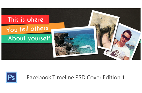 Facebook Timeline PSD Cover Edition 1