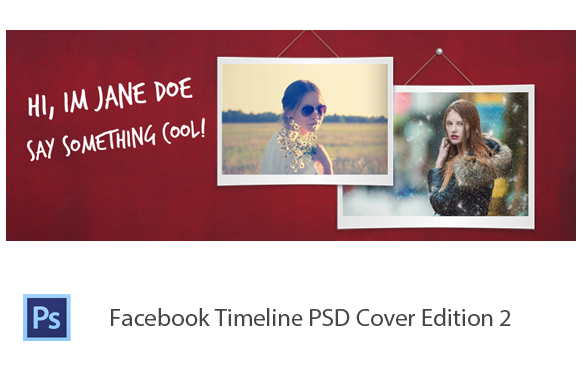 Facebook Timeline PSD Cover Edition 2