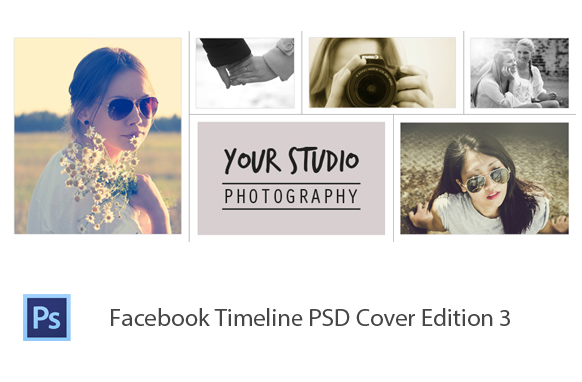 Facebook Timeline PSD Cover Edition 3