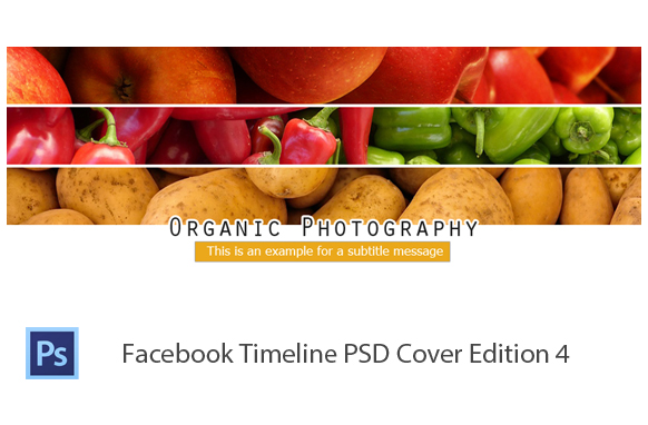 Facebook Timeline PSD Cover Edition 4