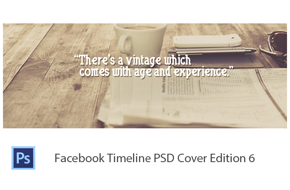 Facebook Timeline PSD Cover Edition 6