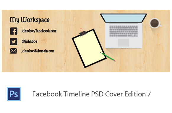 Facebook Timeline PSD Cover Edition 7