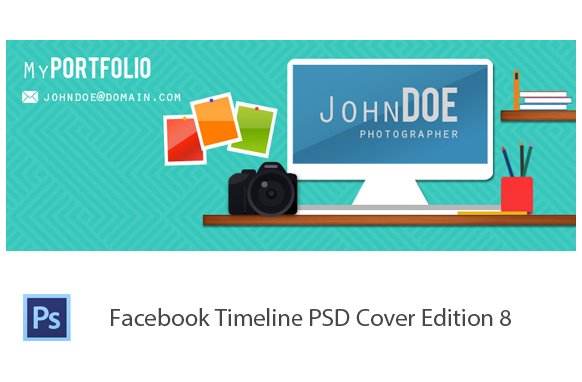 Facebook Timeline PSD Cover Edition 8