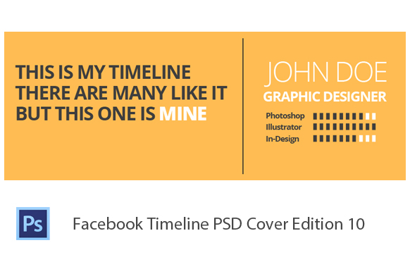 Facebook Timeline PSD Cover Edition 10