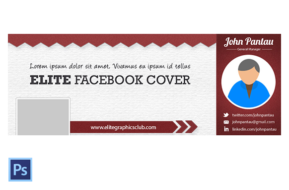 FB Cover PSD Template Version 1