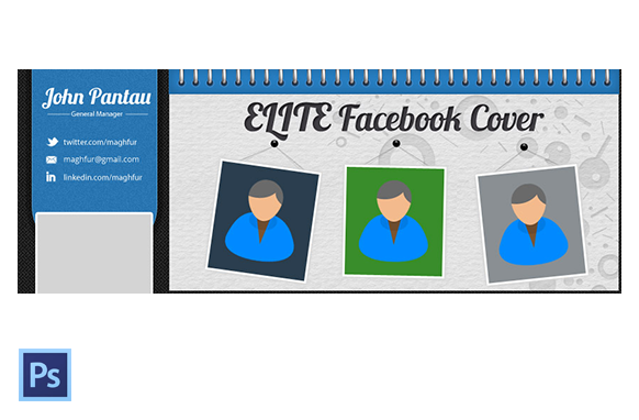 FB Cover PSD Template Version 2