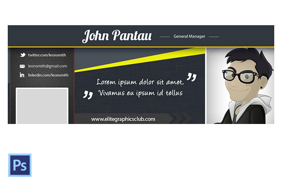 FB Cover PSD Template Version 3
