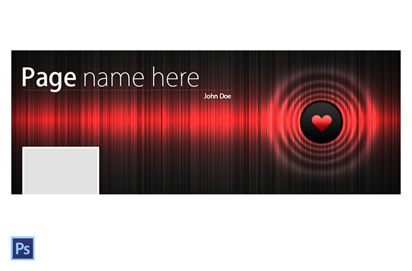 FB Timeline PSD Cover Template Edition 5