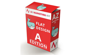 AZ Marketing Kit Flat Design A Edition