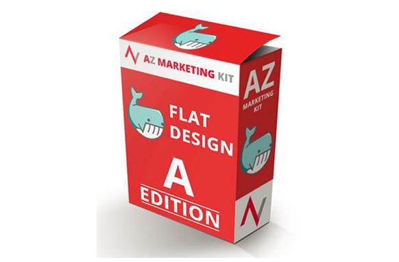 AZ Marketing Kit Flat Design A Edition