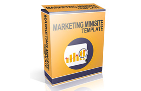 Marketing Minisite Template Version 1