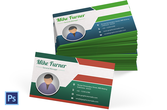 PSD Business Card Template Version 2