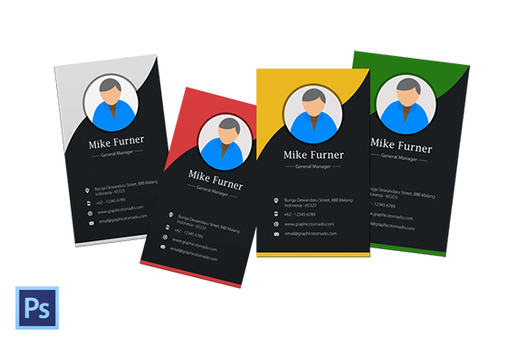 PSD Business Card Template Version 3