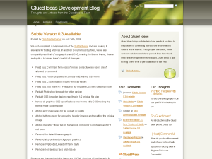 Glued Ideas WP Theme