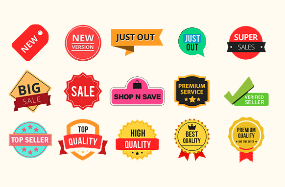 Special Sale Badges PSD PNG Edition 1