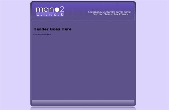 Mano2 Click HTML PSD Website Template