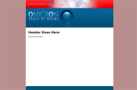 Omicron HTML PSD Website Template