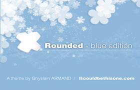 Rounded v2 Blue Edition WP Theme