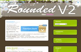 Rounded v2 WP Theme