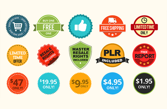 Special Sale Badges PSD PNG Edition 2