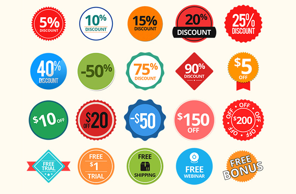 Special Sale Badges PSD PNG Edition 3