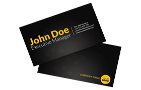 Unique Modern Business Card PSD Template Edition 3