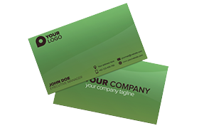 Unique Modern Business Card PSD Template Edition 5