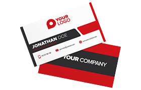 Unique Modern Business Card PSD Template Edition 6